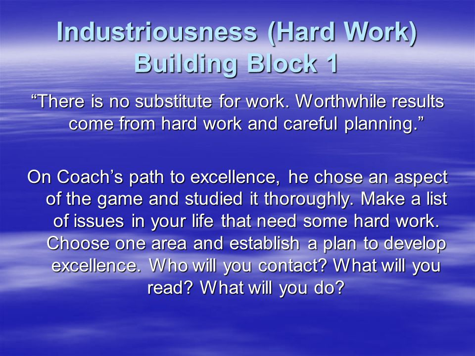 image regarding John Wooden Pyramid of Success Printable referred to as Prepare John Woodens Pyramid of Results - ppt down load