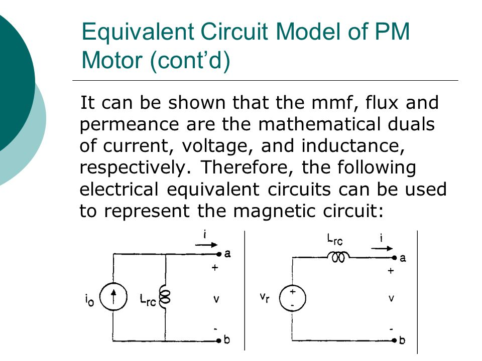 ECE Electric Drives Topic 15: Permanent Magnet Synchronous