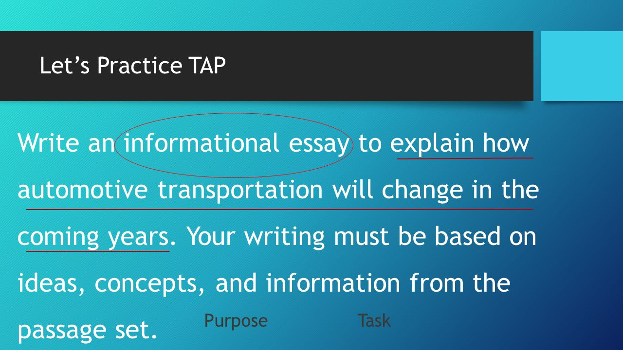 English Language Essays Lets Practice Tap High School Narrative Essay also Gender Equality Essay Paper Unpacking The Prompt  Ppt Video Online Download Science And Technology Essay Topics