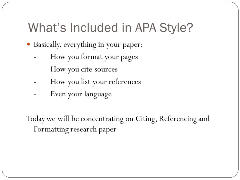 citing sources apa style