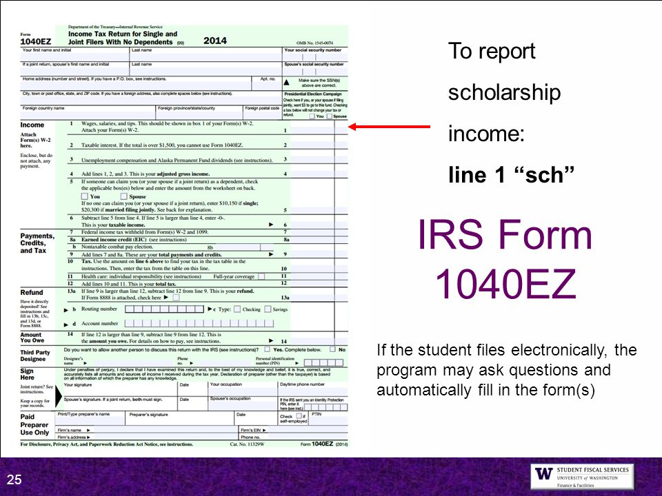Taxes Agenda Important Information For 2014 Returns Ppt Video. Irs Form 1040ez To Report Scholarship Ine Line 1 Sch. Worksheet. 1040ez Dependent Worksheet At Clickcart.co