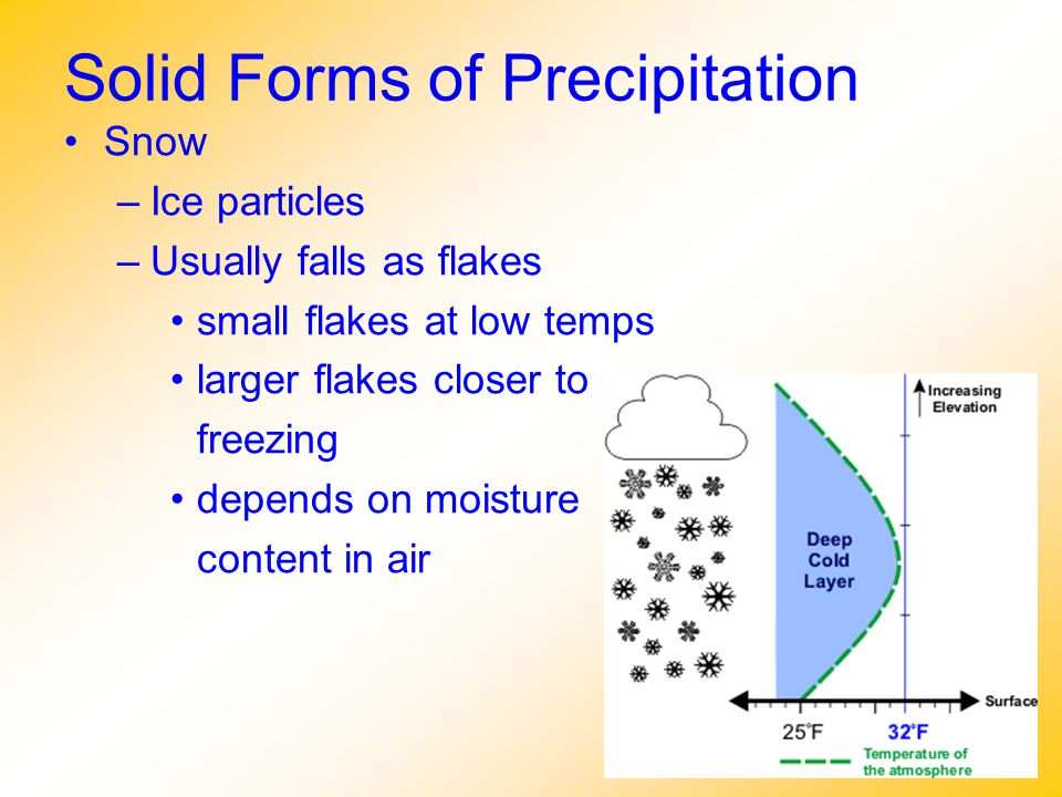 Solid Forms of Precipitation