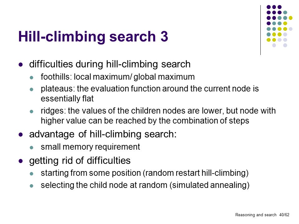 Reasoning and search  - ppt video online download