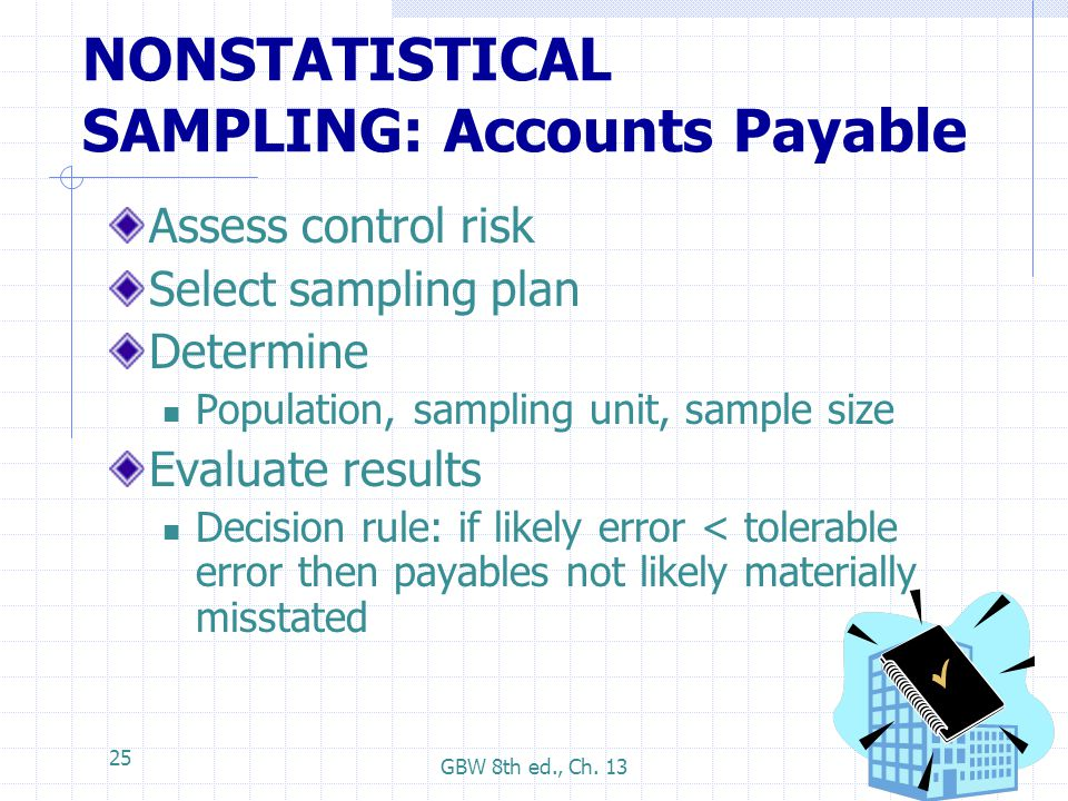 NONSTATISTICAL SAMPLING: Accounts Payable