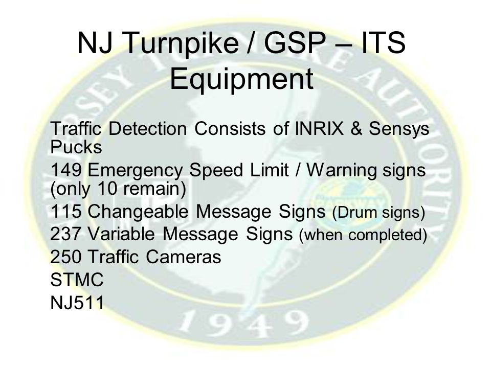 New Jersey Turnpike Authority - ppt video online download