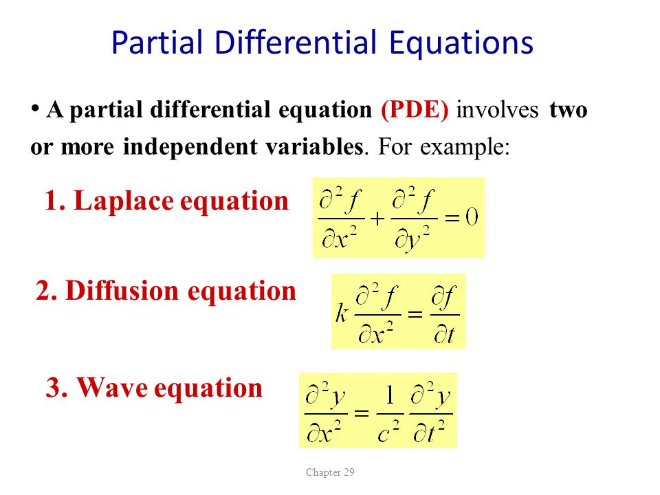 PART 7 Ordinary Differential Equations ODEs - ppt video online download