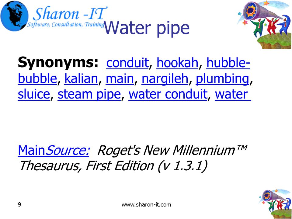 Luxury Synonyms for Conduit
