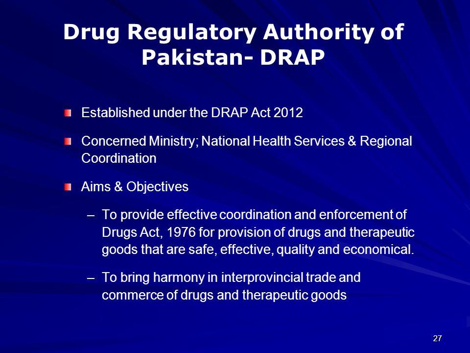 DRUG REGULATORY AFFAIRS - ppt video online download