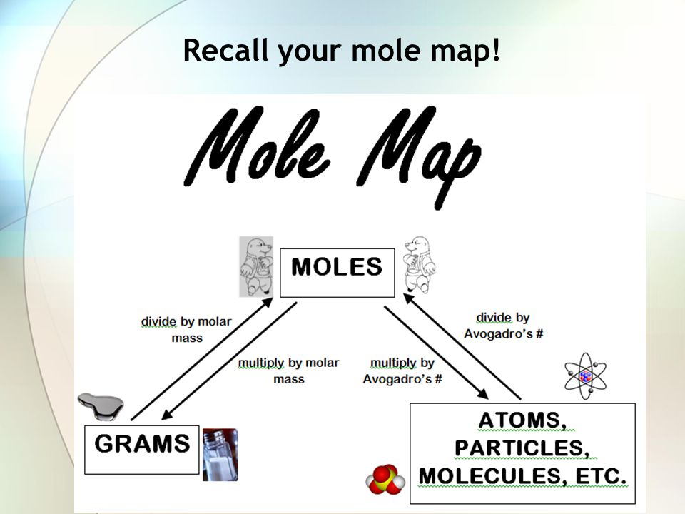 Recall your mole map!