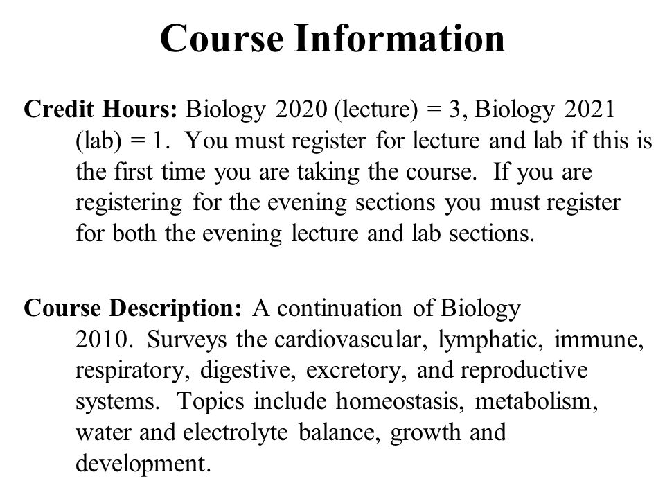 Attractive Anatomy And Physiology Ii Online Course With Lab ...