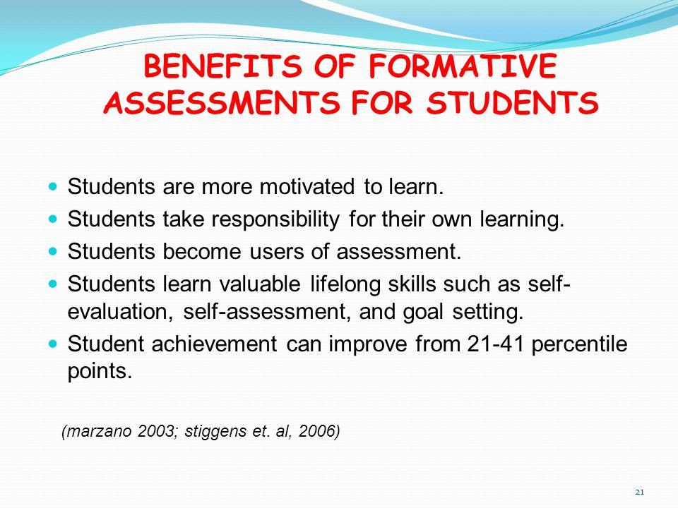 benefits of summative assessment pdf