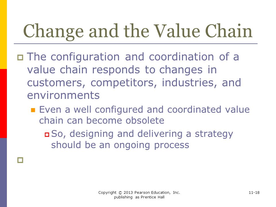 Change and the Value Chain