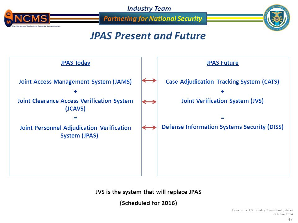 Government Amp Industry Committee Updates October 2014