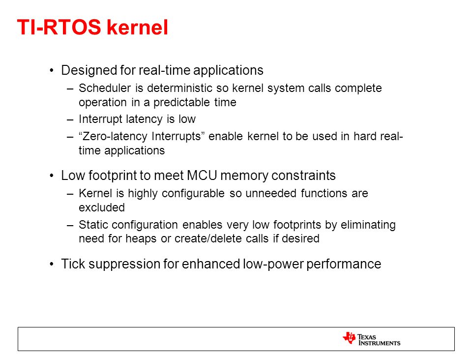 Nick Lethaby, TI-RTOS and IoT Ecosystem May ppt download