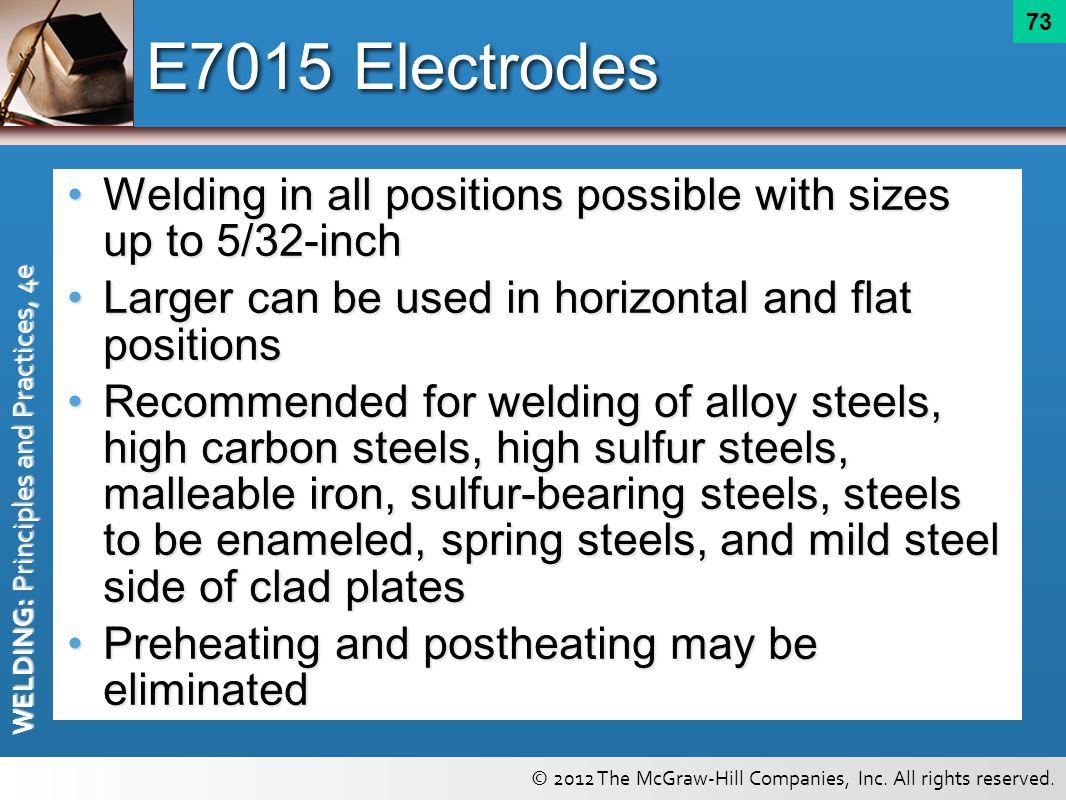 Shielded Metal Arc Welding Electrodes - ppt download