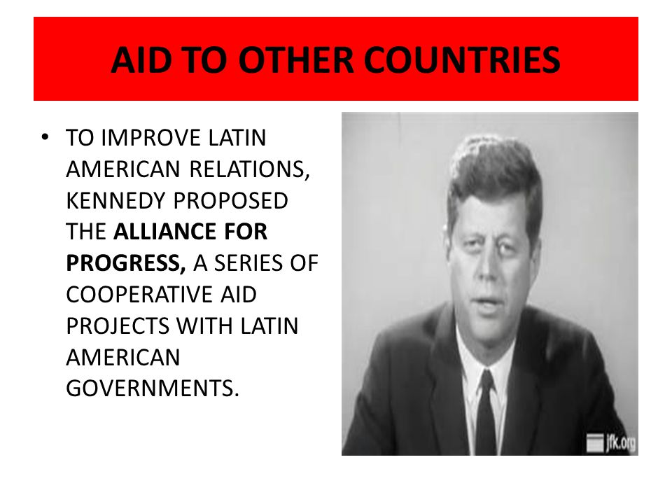 AID TO OTHER COUNTRIES