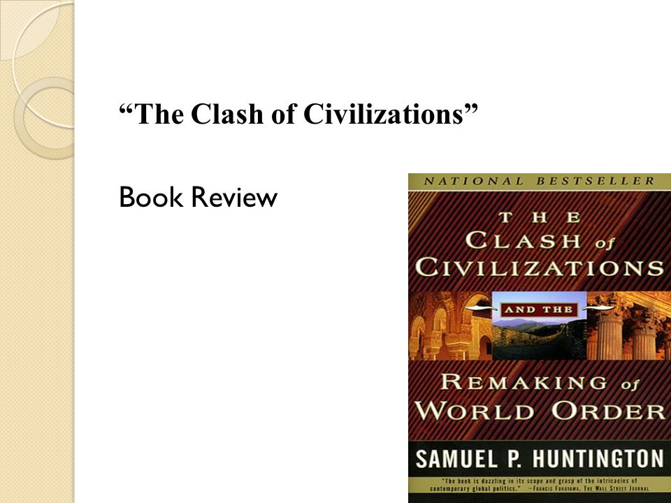 The Clash Of Civilizations Book