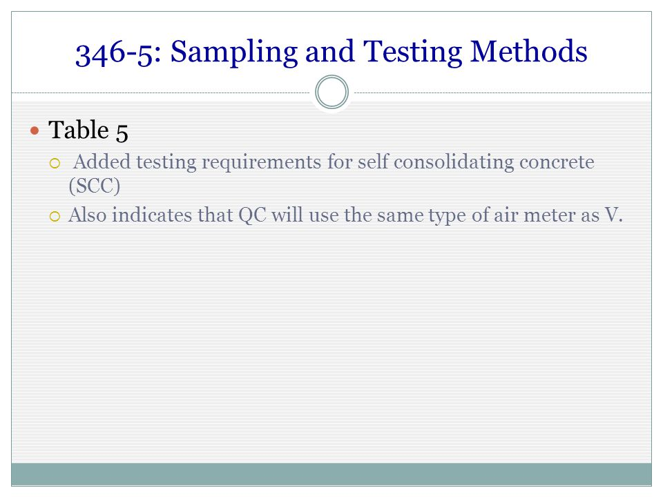 Air percent in self consolidating concrete