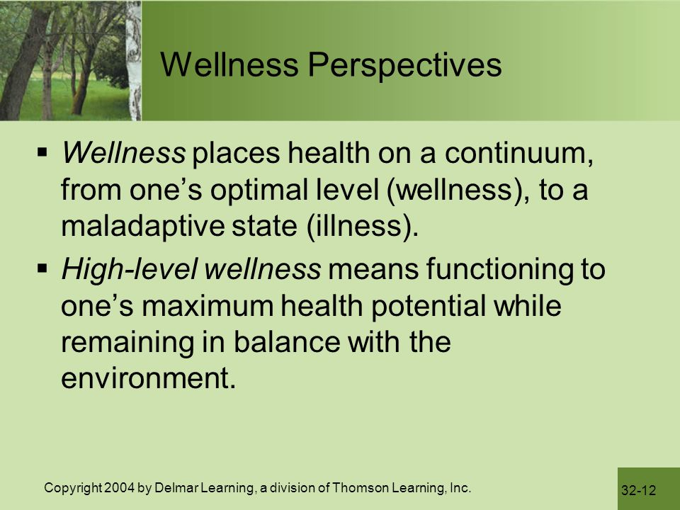 Wellness Perspectives