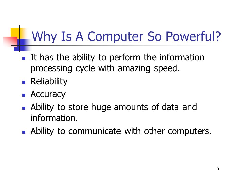 Why Is A Computer So Powerful