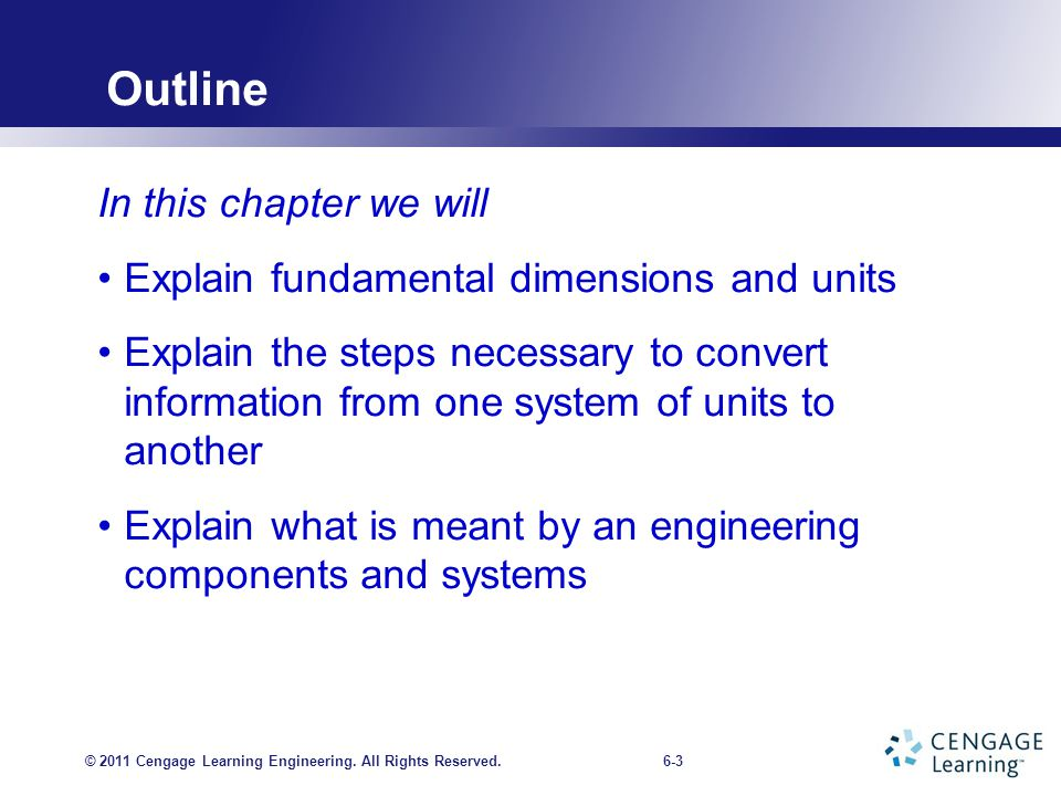 CHAPTER 6 Fundamental Dimensions and Units - ppt download