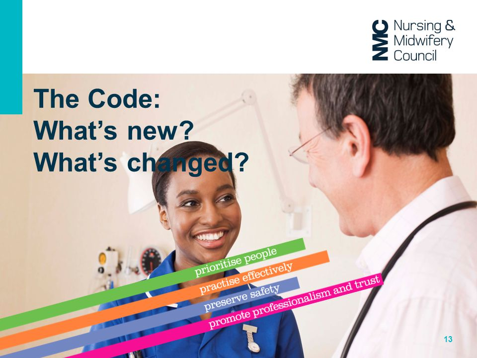 The Code: What's new What's changed
