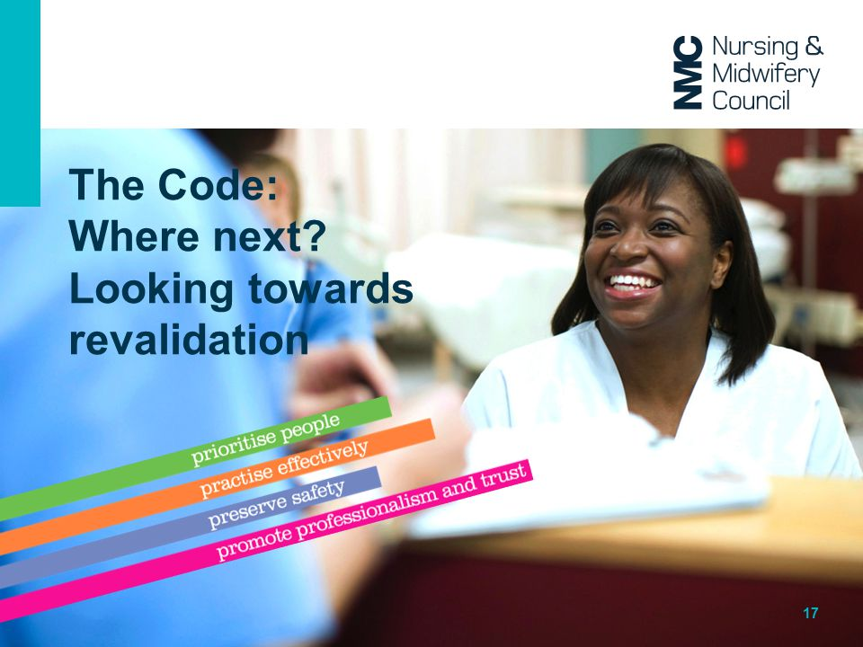 The Code: Where next Looking towards revalidation