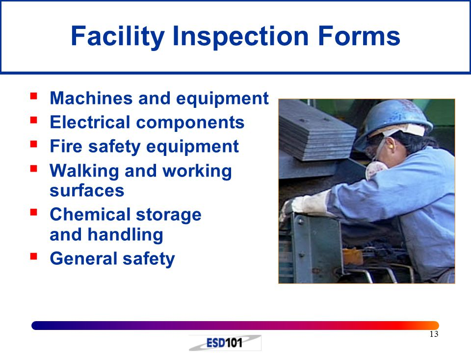 Facility Inspection Forms