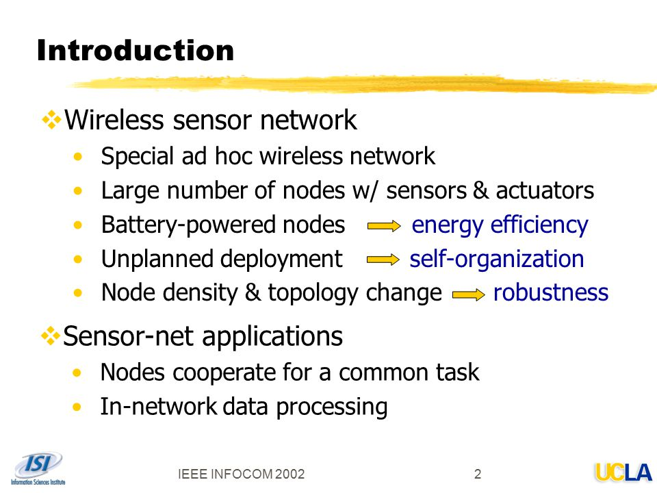 An Energy-Efficient MAC Protocol for Wireless Sensor Networks - ppt