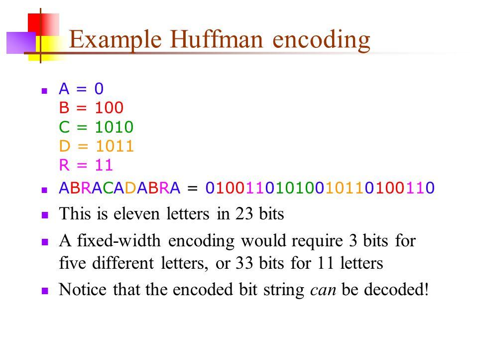 Huffman Encoding 16-Apr ppt video online download