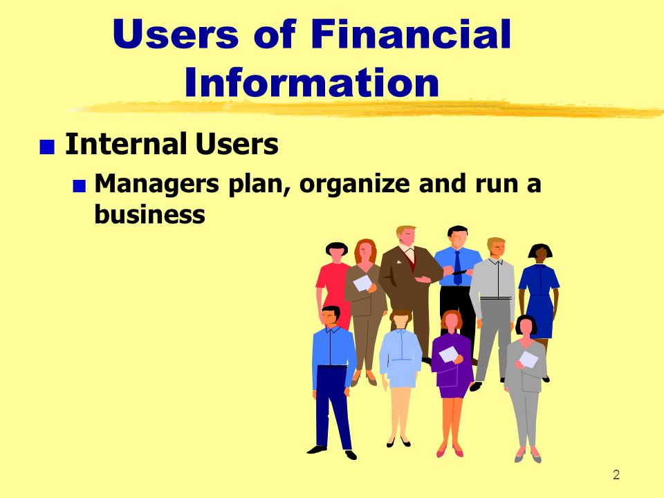 Users of Financial Information
