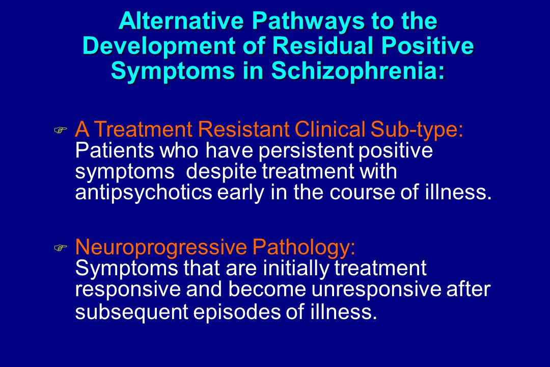 Schizophrenia and Related Psychotic Disorders - ppt video