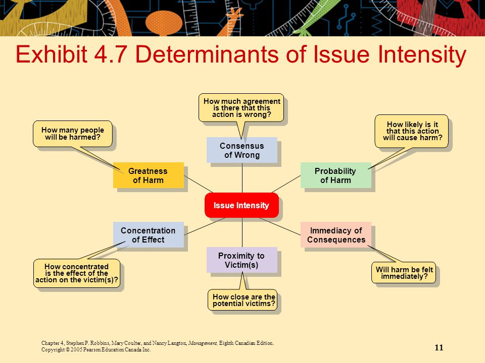 Exhibit 4.7 Determinants of Issue Intensity