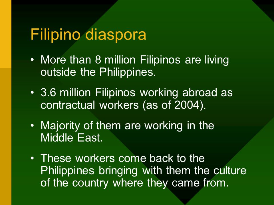 filipino diaspora definition