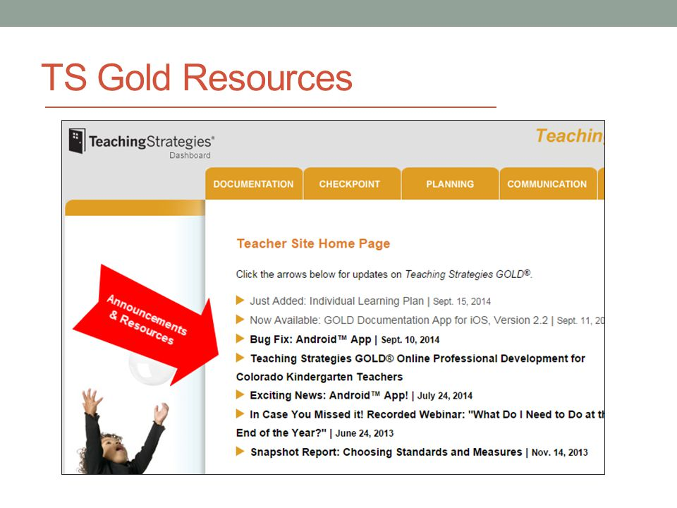 teacher strategies online gold
