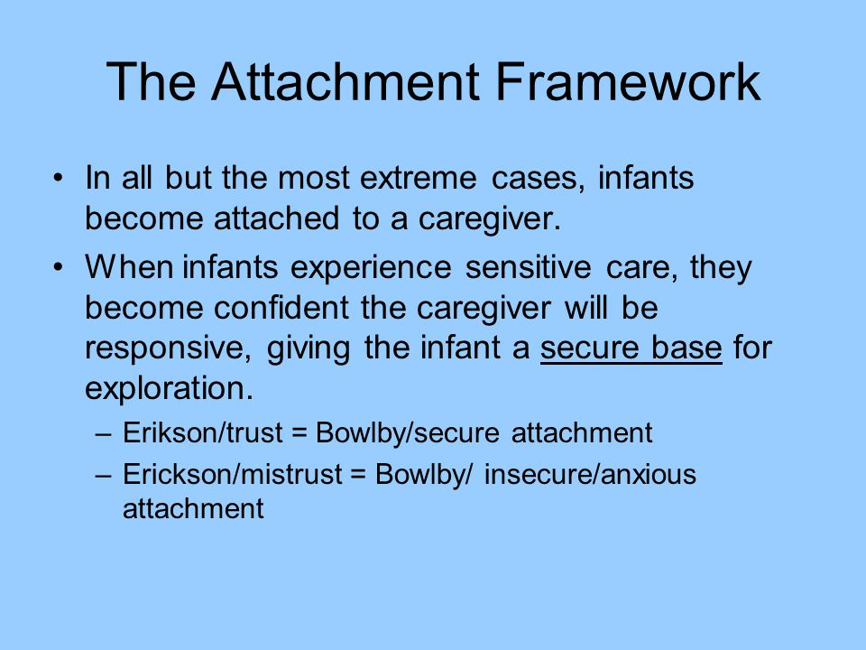 The Attachment Framework