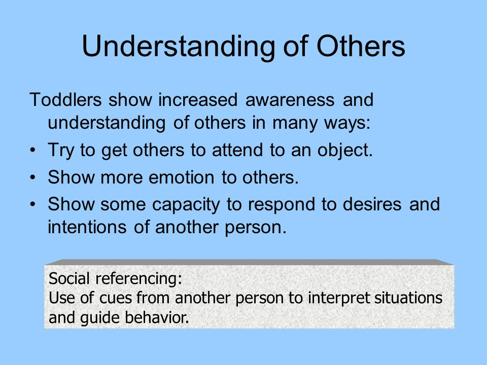 Understanding of Others