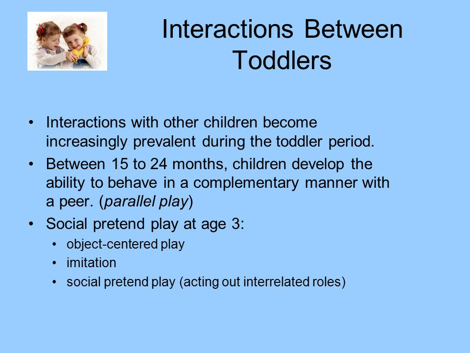 Interactions Between Toddlers