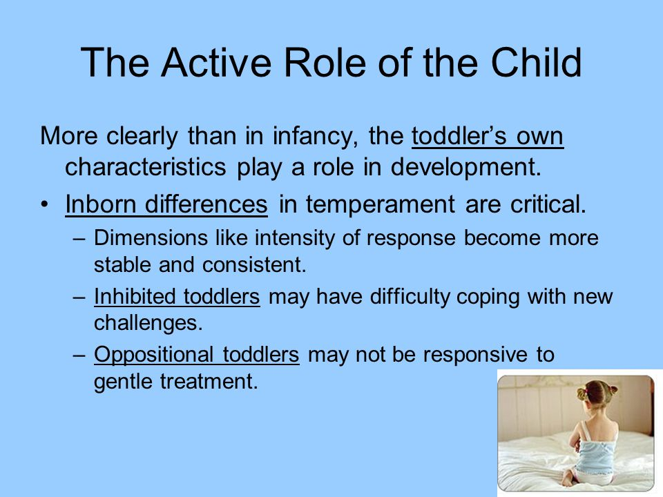 The Active Role of the Child