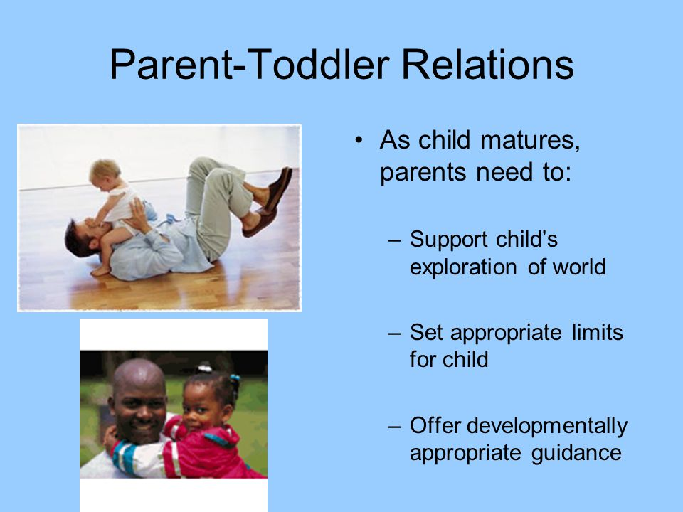 Parent-Toddler Relations