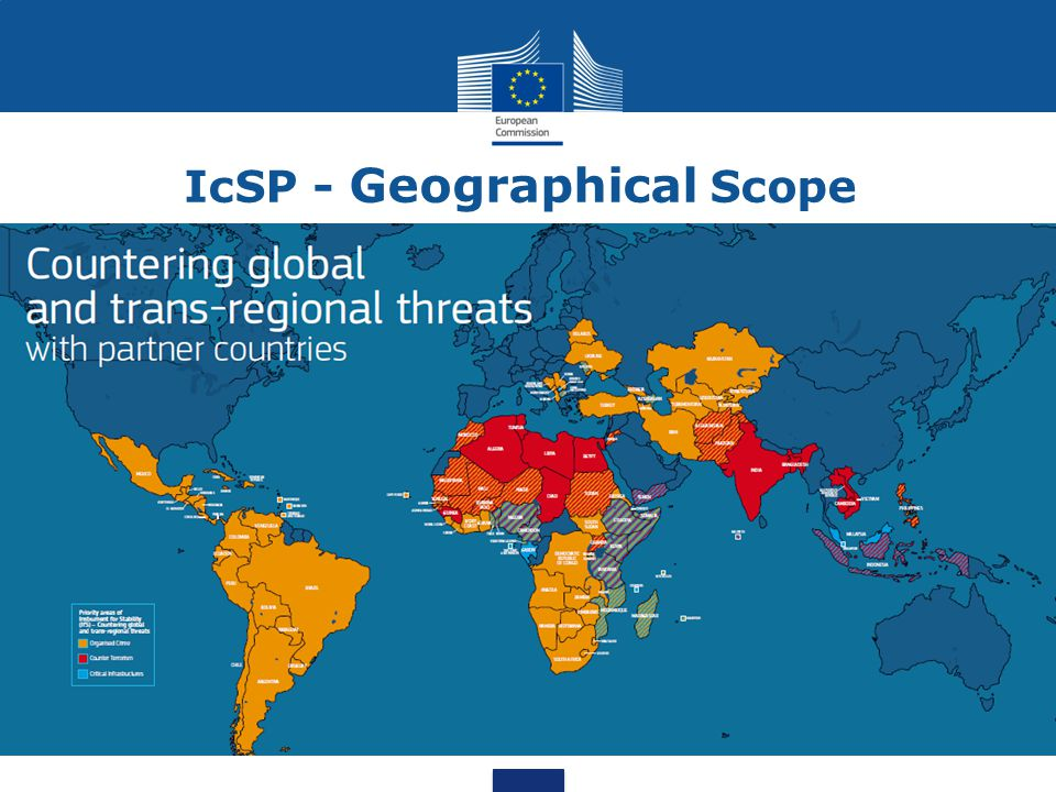 IcSP - Geographical Scope
