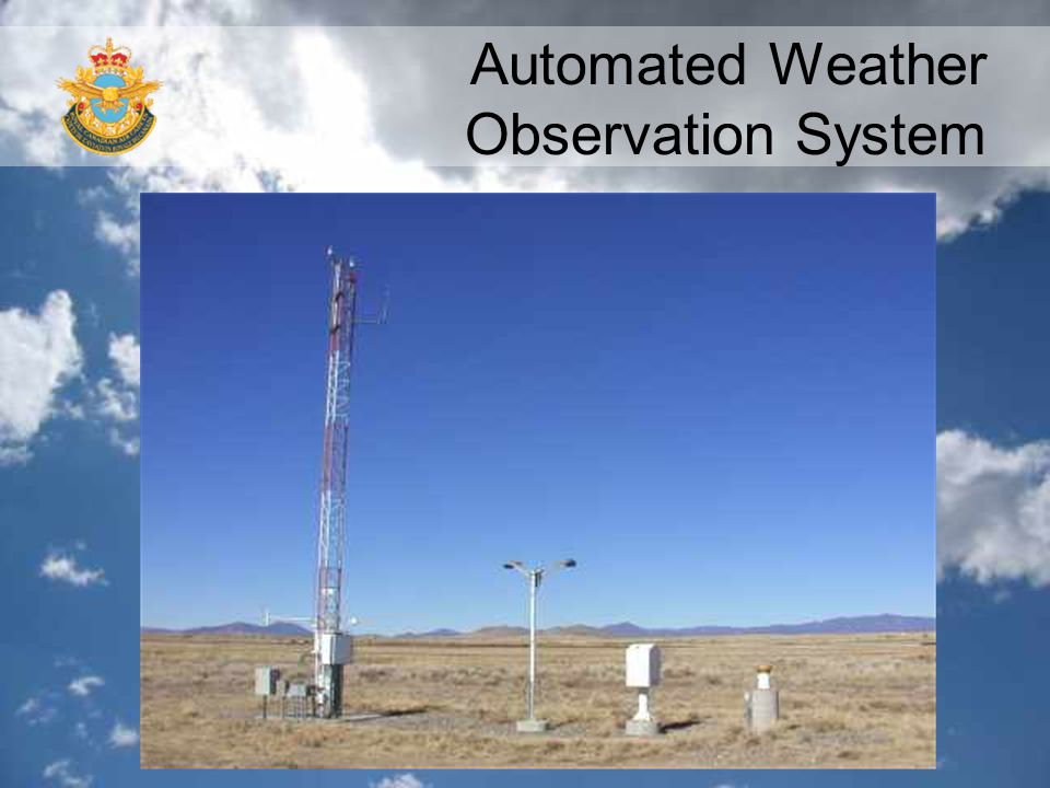 Automated Weather Observation System