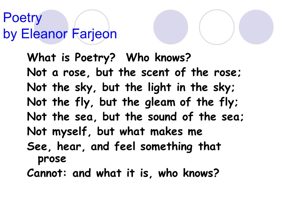 What is poetry? How do we know? - ppt video online download