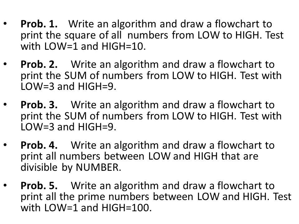 Algorithm And Flowchart Questions Ppt Video Online Download
