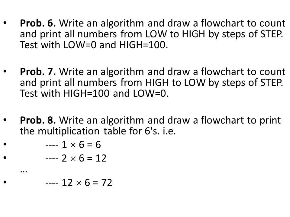 Algorithm and Flowchart Questions - ppt video online download