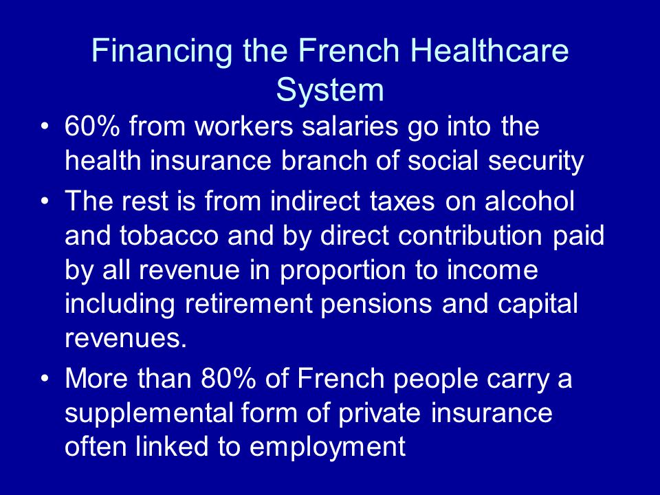 french healthcare system