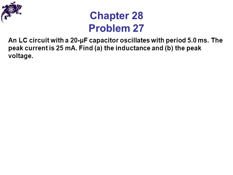 Chapter 28 Problem 27