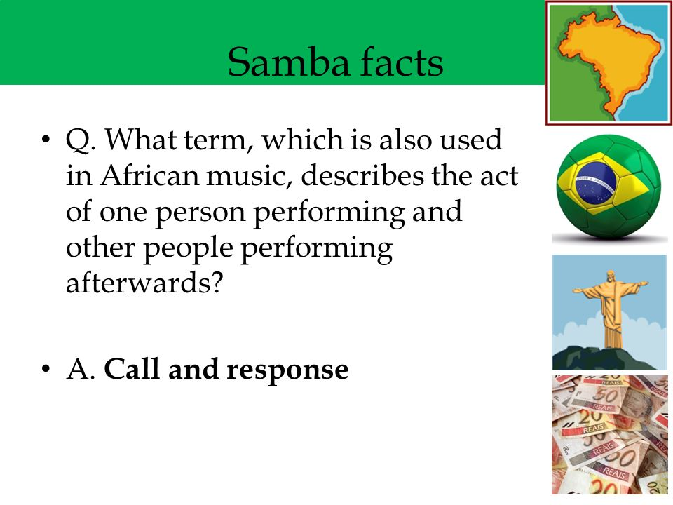 Music From Brazil Samba Ppt Video Online Download