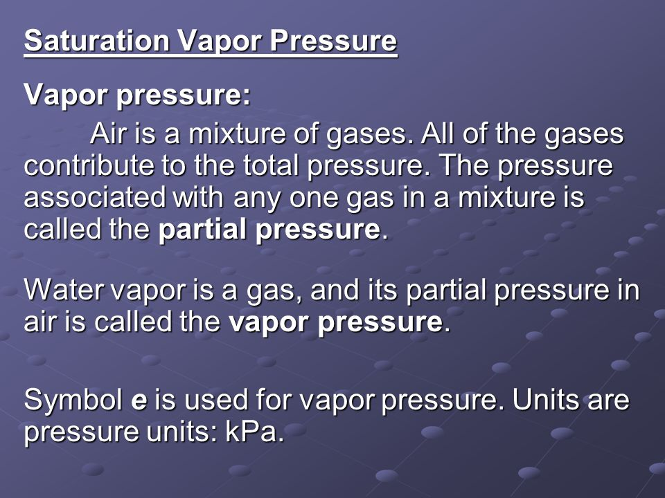 Lecture 7 Water Vapor Ppt Video Online Download