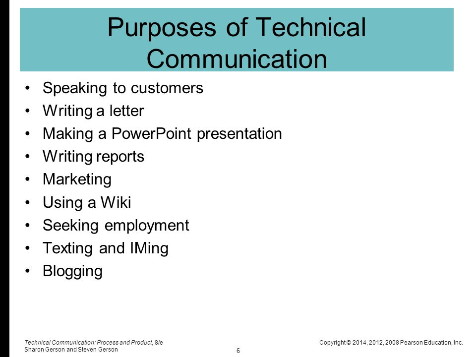 Chapter 1: An Introduction to Technical Communication - ppt